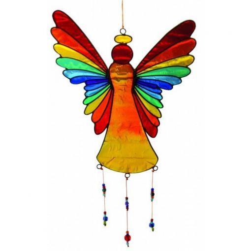 Suncatcher Engel Regenbogen bunt