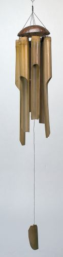 Bambusklangspiel groß