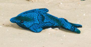 Sandtier - Delphin