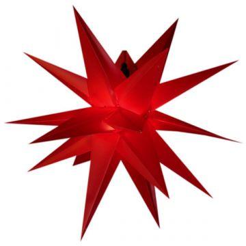 Leuchtstern adventstern rot