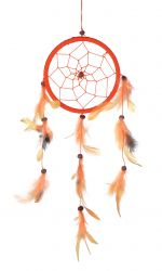 Dreamcatcher, 1er, orange/gelb