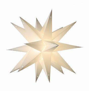 Leuchtstern taara white