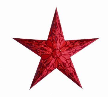 starlightz® Leuchtstern damaskus red