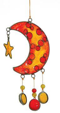 Suncatcher Mond, ca. 25 cm