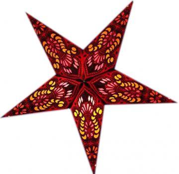 Leuchtstern baby ganesha rot mit Magnetverschluss