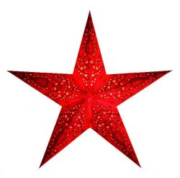 starlightz® Leuchtstern mono red