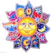 Fensterbild Sun Magic