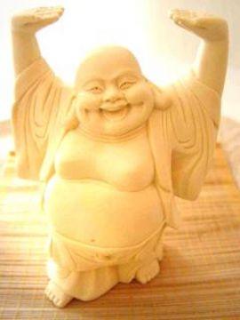 Buddha Happy stehend