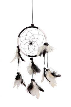 Dreamcatcher schwarz/weiß