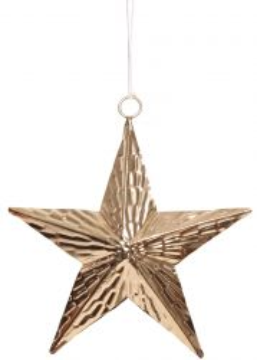 Creative Tealights 3D Stern gold, ca. 13cm
