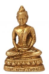Mini-Buddha Meditationsgeste