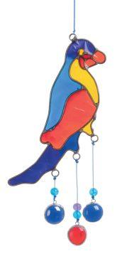 Suncatcher Papagei