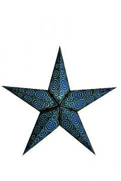starlightz® Leuchtstern marrakesh black/turquoise