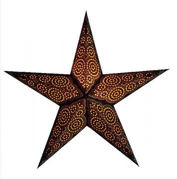 starlightz® Leuchtstern marrakesh brown/yellow