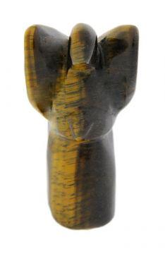 Edelsteinengel, ca. 75 mm, aus Tigerauge