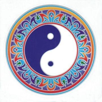 Fensterbild Yin Yang Mandala